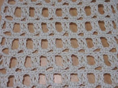 Crochet puntada fantasia #5