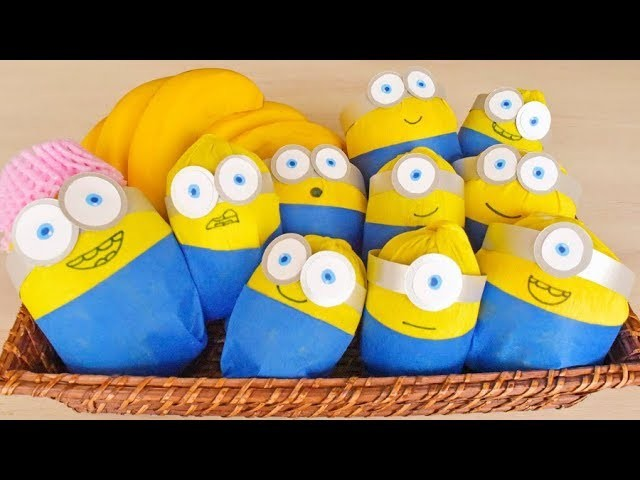 Despicable Me Minion Gift Basket! - How to Wrap Fruits Creatively