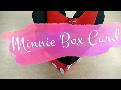 DISNEY MINNIE EXPLODING BOX CARD TUTORIAL | DIY WITH OSHINIX