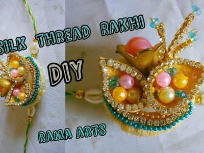 DIY fancy Rakhi - How to make this fancy Rakhi  | Rakhi tutorials
