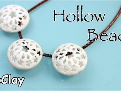 DIY Hollow beads - Polymer clay tutorial