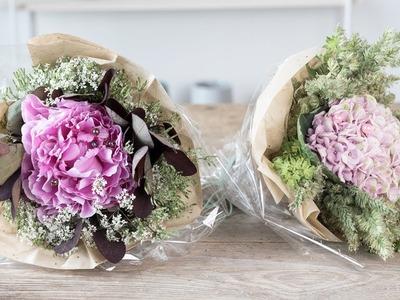 DIY : How to arrange a flower bouquet by Søstrene Grene