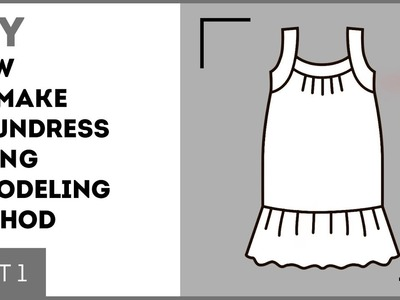 DIY: How to make a sundress using a modeling method. Making a white sundress. Sewing tutorial.