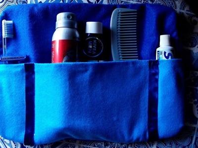 DIY - Necessaire | Kit de viagem | Especial Dia dos Pais