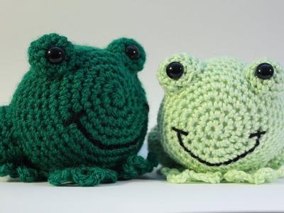 Frankie Frog Crochet Along Video Tutorial. Caterpillar Crochet Amigurumi
