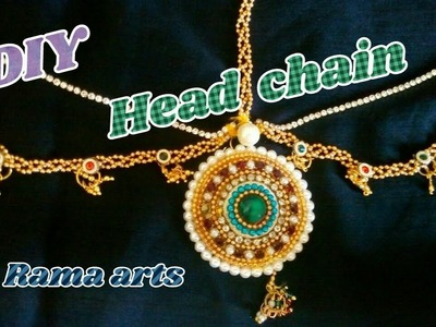 Head chain. papida chain - How to make this head chain | jewellery tutorials