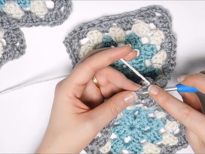 How to Assemble Granny Squares