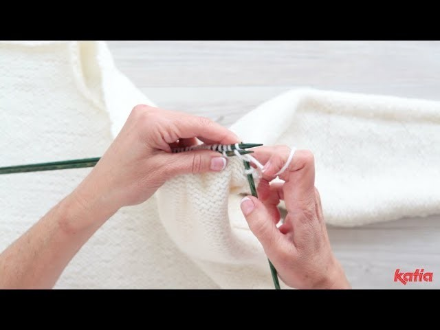 How to Bind Off a Shoulder with 3 Needles