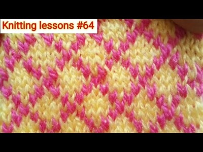 How to || create cross (x) effect || in || Knitting sweater design || Easy to make