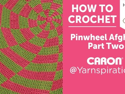 How to Crochet a Blanket: Peppermint Pinwheel Afghan, Quick & Merry CAL Week 2