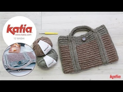 How to Crochet a Laptop Cover with Handles