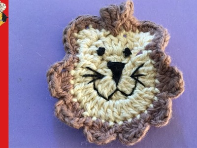 How to crochet a Lion (Train series part 5)