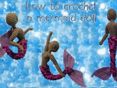 How to Crochet a Mermaid Doll