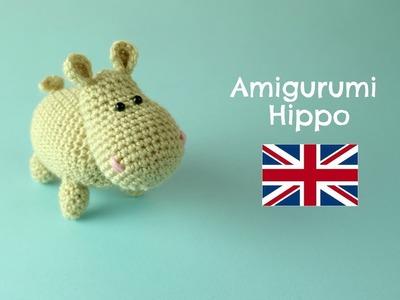How to crochet an Hippo   World Of Amigurumi