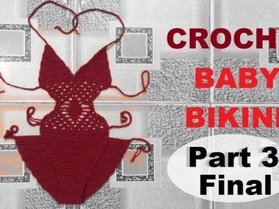 How to Crochet Baby Bikini Part 3 - Hướng dẫn móc bikini cho bé P3