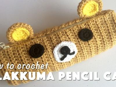 How To Crochet Rilakkuma Pencil Case
