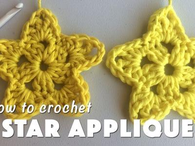 How To Crochet Star Applique