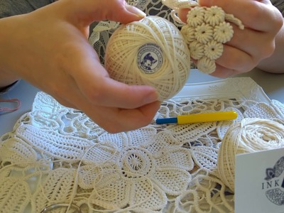 How to do Romanian Point Lace Cords
