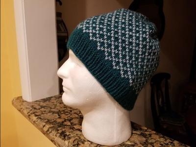 How to Knit a Fair Isle Hat!  (Pt. 1 - the brim)