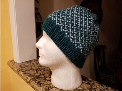 How to Knit a Fair Isle Hat! (Pt. 3 - the bind off)