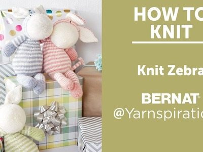 How to Knit: Knit Zebra