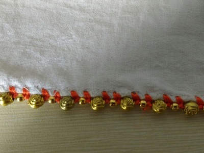 How to make beads lace design 3