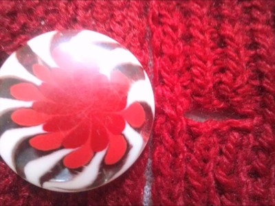 How to Make Button Hole for Fancy Button (Part-2)
