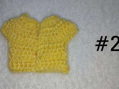 How to make crochet choli for 7 and 8 no. Kanha Ji #2