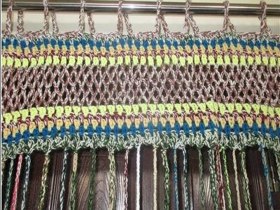 How to make crochet Curtain [Hindi]