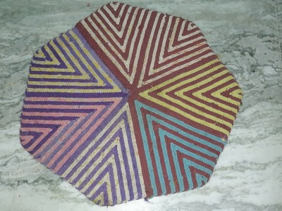 How to Make doormat  from old saree and waste cloth. Awesome diy doormat design project.