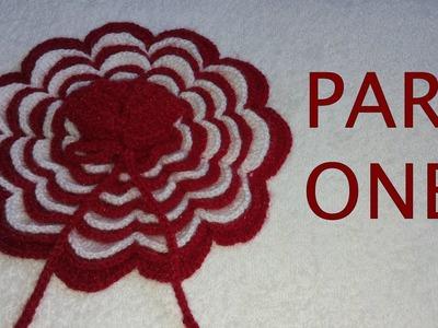 How to make flower shaped crochet dress of Bal Gopal. Kanha Ji - Part 1.2
