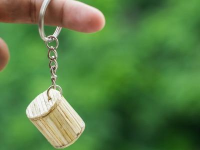 How To Make Mini Match Stick Key Ring v2 | Easy Key Holder Making | Key Chain | DIY Craft