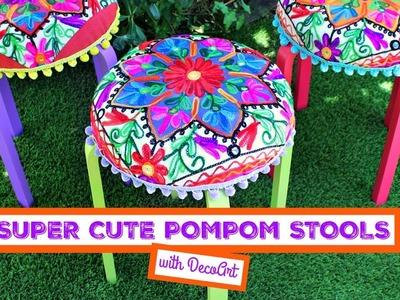 HOW TO: Pom Pom Stools