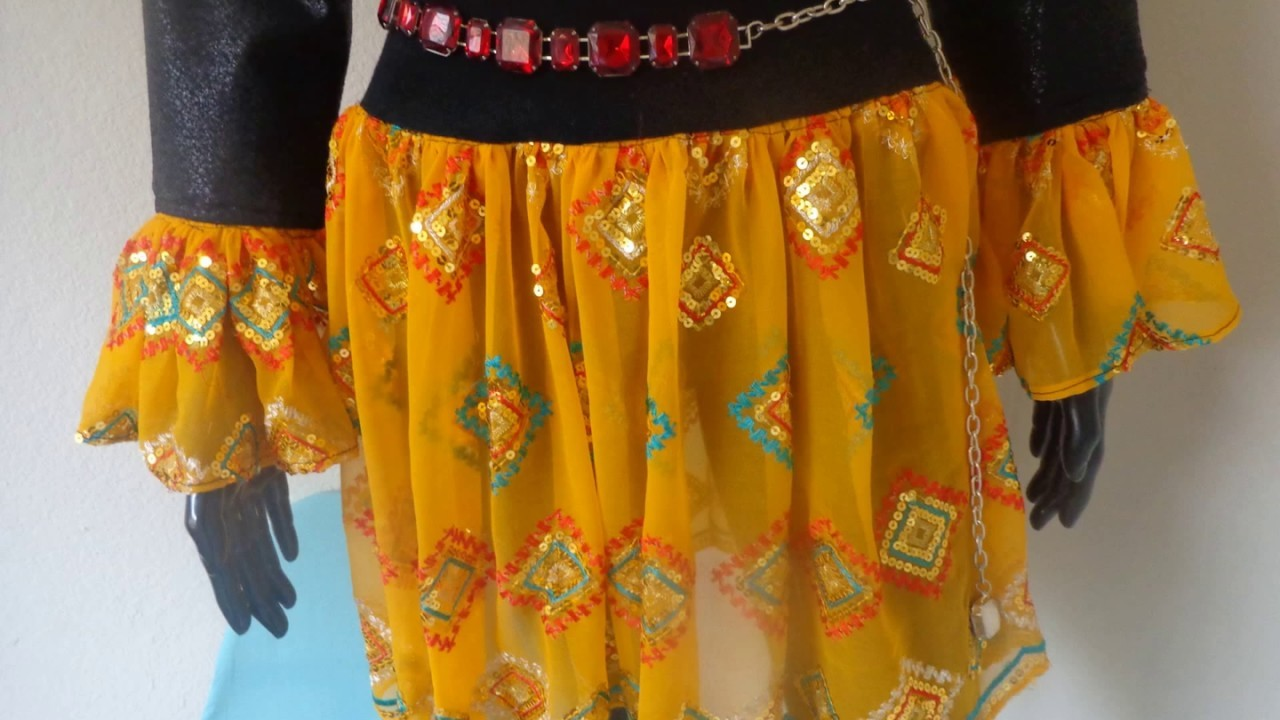How to redesign old clothes DIY: Jeans, Vintage Dresses, Indian Clothes