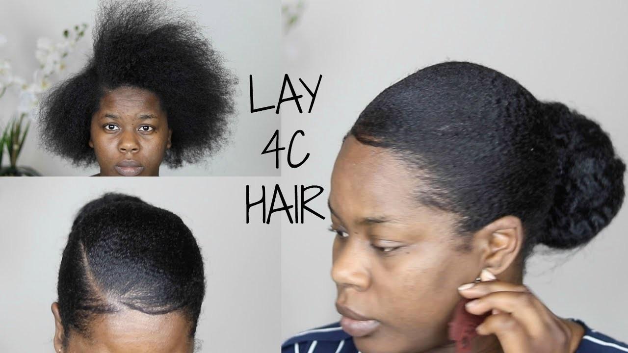 How To Make Short Natural Hair Lay Down