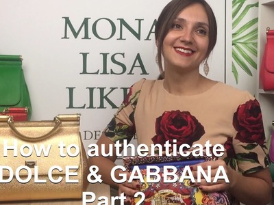 How to spot FAKE vs AUTHENTIC Dolce & Gabbana Miss Sicily Bag Handbag Purse Monalisalikes - part 2