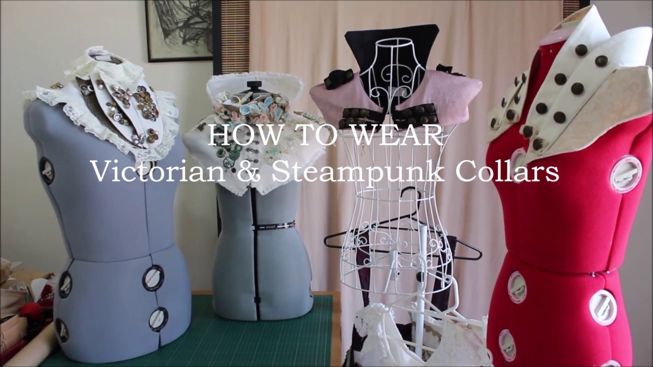 How to Wear Steampunk & Victorian Collars   Ventriloquist Court®