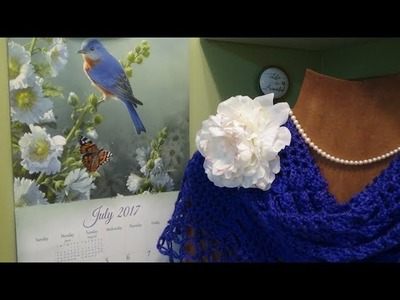 J's Crochet - Picnic in The Park Summer Shawl. EP. #70.