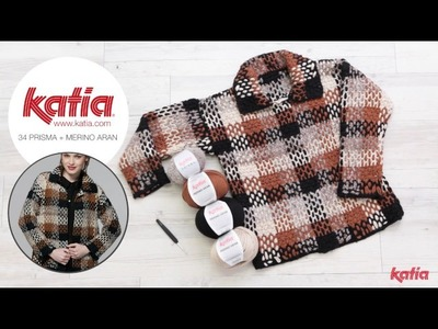 Jacket Project: How to make a plaid or tartan crochet pattern