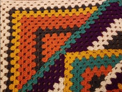 Kaleidoscope Granny Square Blanket Crochet Along (pt. 4.3)