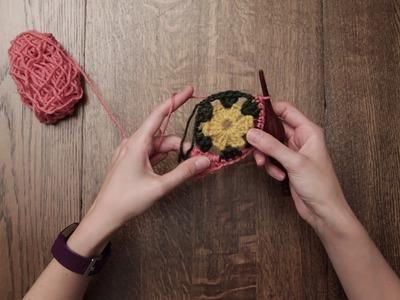 P I N K ~ L E M O N A D E ~ B L A N K E T crochet pattern tutorial