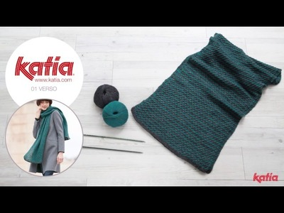 Scarf Project: How to Knit the Bicolor Stitch