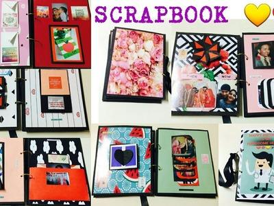 Scrapbook Tutorial DIY for Bf.Gf.Husband.Wife Birthday.DIY Crafts.Handmade Gift Ideas for Birthday.