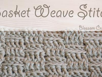 Super easy crochet: Basket Weave (wash cloths. blankets)