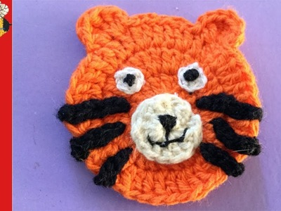 Tiger Crochet Pattern How-to (Train series part 4)