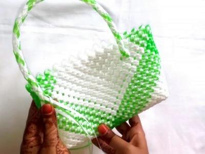বেতির ব্যাগের হাতল||How to make wire bag handel(2nd part)||koodai bag||betir bag||Duy craft(design 1