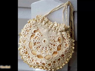 Topaz Crocheted Purse Pattern & Tutorial -  Crochet Patterns WOC