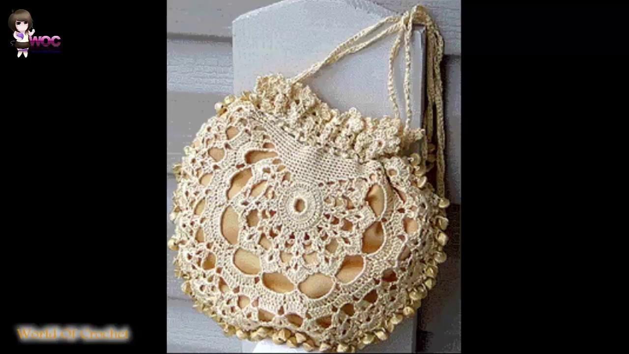 Topaz Crocheted Purse Pattern & Tutorial -  Crochet Patterns WOC