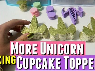 UNICORN CUPCAKE TOPPERS KEEP SELLING OUT! Unicorn Toppers for Cupcakes, DIY Cupcake Toppers
