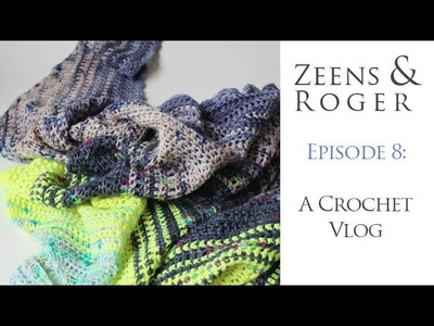 Zeens and Roger Crochet Podcast. Episode 8! Please tell me to stay away from red lipstick!!